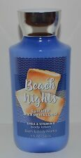 BATH & BODY WORKS BEACH NIGHTS SUMMER MARSHMALLOW LOTION CREAM HAND SHEA BUTTER