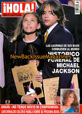 Spanish Hola (Mexico) 7/09,Prince Jackson,Paris Jackson,July 2009,NEW
