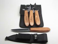 Old Forge Whittlin Fun 3pc Woodcarving Tools Kit Carry Case & Carving Knife