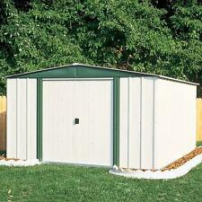 10 x 6 Storage Shed Outdoor Backyard Metal Tool Storage Floor Frame Kit Included