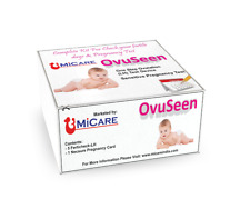 Ovulation kit (Fertility) kit (5 Tests)  with 1 Free Pregnancy Test Card