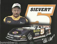 "2002 BRET SIEVERT ""SC CENTRAL SERVICES"" #5 NON NASCAR DIRT LATE MODEL POSTCARD"