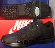 Nike Zoom Vapor 9.5 Tour QS Black Blue Camo Roger Federer SZ 11 ( 812937-040 )
