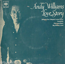 ANDY WILLIAMS Love Story EP