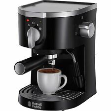 RUSSELL HOBBS 19720 PUMP ESPRESSO MACHINE WITH MILK FROTHER