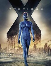 X-Men Apocalypse Mystique Movie Poster (24x36) - Jennifer Lawrence