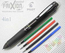 Pilot FriXion Ball 4 D.BROWN Multi-Color 4in1 Erasable Rollerball pen+4 REFILLS