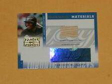 2005 Prime And Patches Game-Used Bat Auto Baseball Card Orlando Hudson /250