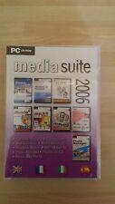 Suite multimédia pc/cd-rom 2006 new Seald