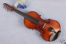 5 String Electric Acoustic Violin 4/4 Guitar Head Case Bow Maple spruce #1582