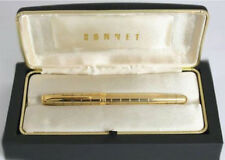 PARKER SONNET CROCODILE VERMEIL FOUNTAIN  PEN NEW IN BOX MED OR FINE PT