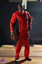 "1/6 Scale Michael Jordan Warm Up Track Suit Red for Enterbay for 12"" figures"