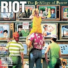 RIOT-PRIVILEGE OF POWER  CD NEW