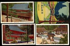Japan JAPANESE STRUCTURES Mt Hiei Original Envelope 8x PPCs