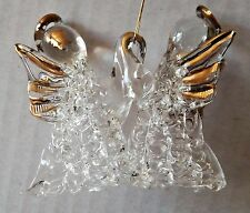 GLASS BLOWN ANGEL ORNAMENTS ~XMAS,DECORATION,WREATHS