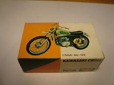 1/24 MOTO POLISTIL 1976 KAWASAKI CROSS SCATOLA E MOTO NUOVE - mt118