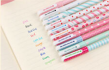 10pcs/lot Colorful 0.38mm Gel Pen Cute Pens Student Office Accessories Nice B