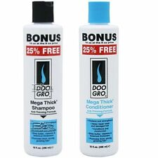 DOO GRO MEGA THICK HAIR GROWTH,DAMAGED,HAIR LOSS TREATMENT SHAMPOO & CONDITIONER