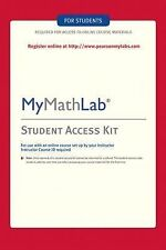 MyMathLab Kit by Pearson Education Staff, Addison-Wesley Publishing Staff and...