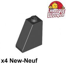 Lego - 4x slope brique pente inclinée 65 2x1x2 noir/black 60481 NEUF