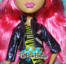 MONSTER HIGH 13 WISHES HOWLEEN WOLF DOLL OUTFIT REPLACEMENT PURPLE JACKET COAT