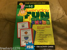 Everyday Fun and Game Cards (2013, Paperback) Grades 1-2