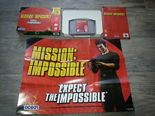 MISSION IMPOSSIBLE Nintendo 64 N64 COMPLETE in BOX with manual, Tested & Works