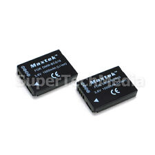 2 (Two) Battery For Panasonic DMW-BCG10 Lumix DMC-ZS3 ZS5 ZS6 ZS7 ZS8 ZS9 ZS10