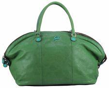 Gabs LIZA M Bag Leder Handtasche Bag Schultertasche Grün Snake Italy Tasche Neu