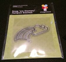 Rainbow # 002909 Imaginisce Snag'em Clear Stamp Berrylicious Collection New!!