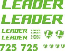 KIT PEGATINAS - STICKERS - VINILO - VINYL - BICICLETA - BIKE - LEADER 725 LAMINA