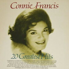 "12"" Connie Francis 20 Greatet Hits (Alle in Englisch) Yesterday Gold"