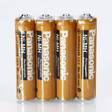 4Pcs Panasonic AAA 1.2V 630mAh Ni-MH Rechargeable Batteries for Torch MP3