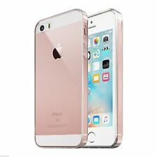 For iPhone SE Case Crystal Clear Hard Shockproof Protective iPhone 5 5s Cover