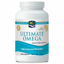 Nordic Naturals Ultimate Omega 180 Softgels 1000 mg Lemon FREE SHIPPING
