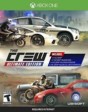 XBOX ONE THE CREW ULTIMATE EDITION BRAND NEW RACING VIDEO GAME
