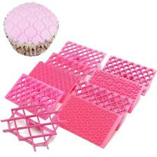 9pcs/lot Cake Fondant Embossing Mould Cookie Icing Cutters Mold Baking Tools