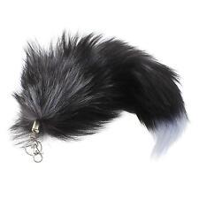Fashion Imitate Fox Fur Tail Bag Tag Handbag Backpack Key Chain Keyring Keychain