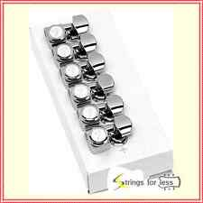 Fender Locking Guitar Tuners, American Deluxe Strat,  Chrome, Set of 6