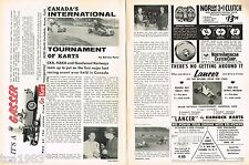 Vintage Go Kart Racing Articles: CANADA, Juice Brakes, Beulah, MI, Family, 1962,