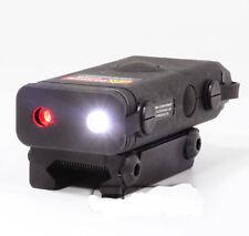 Brand New Black PRO-LAS-PEQ10  Red Laser and LED Light