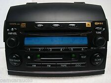TOYOTA Sienna JBL Radio 6 CD Changer Disc Player A56828 86120AE030 04 05 06 07