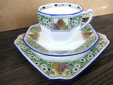 Art Deco / Vintage China Tea set Trio.Royal Doulton.British.3499