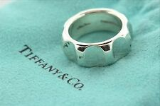 Tiffany & Co. Sterling Silver 925 Paloma Picasso True Love Groove Ring - Size 6
