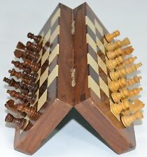 Magnetic Travel Chess Sets and Board 5 Inches X 5 Inches With Storage.USA Seller