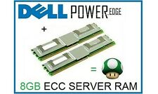 8gb (2x4gb) Memory RAM Aggiornamento Dell PowerEdge 2900, 1950 III e 2950 III Server