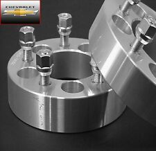 """4 Pc CHEVY CORVETTE 5x4.75 WHEEL ADAPTER SPACERS 1.50"""" Inch # 5475C1215"""