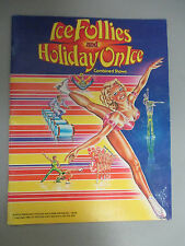 1980 Ice Follies And Holiday On Ice Color Show Program