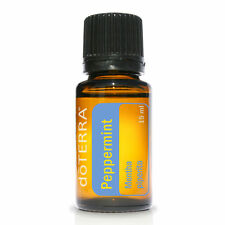 doTERRA Peppermint Pure Essential Oil 15ml Revitalize Uplift Focus Indigestion