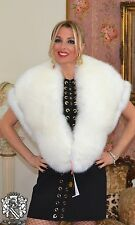 GENUINE NEW FOX FUR COLLAR SCARF REAL FOX FUR STOLE MEXA STOLE PELZKRAGEN